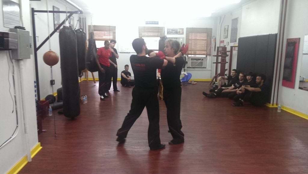 chi sao sparring