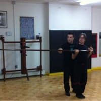 practcing long pole to increase power of wing chun punch